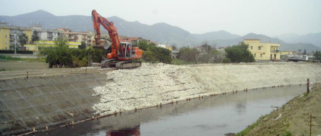 Sistemazione fiume Sarno